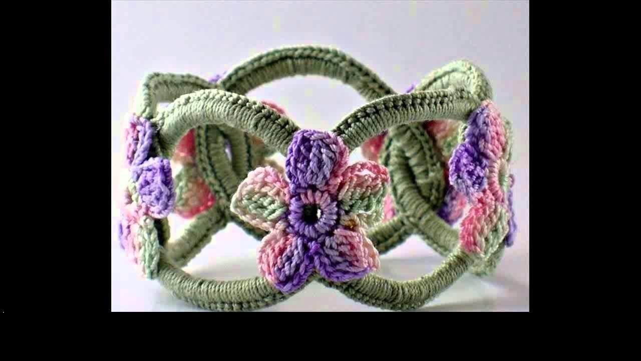 How to crochet bracelet