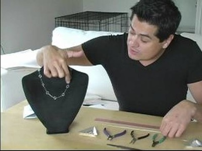 How to Design & Make Jewelry: Part 1 : Making Jump Rings for A Necklace