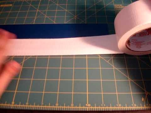 How to make a Braided Duct Tape Bracelet!