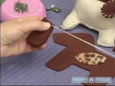 How to Make a Stuffed Animal : How to Make Ears for a Stuffed Animal