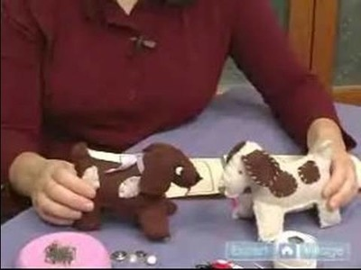 How to Make a Stuffed Animal : Materials to Make a Stuffed Animal