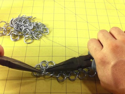 How to Make Dragon Back Chainmail