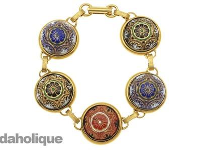 How to Make the Czarina Bracelet