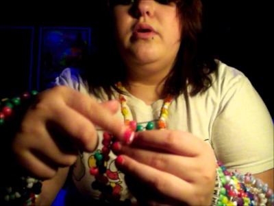 Kandi Tutorial: How To Make A Multi-Stitch Cuff