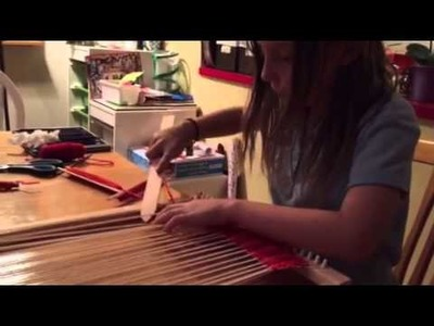 Lap Loom Part 2 Harrisville Designs Beginner Weaving