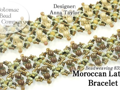 Make a Moroccan Lattice Bracelet