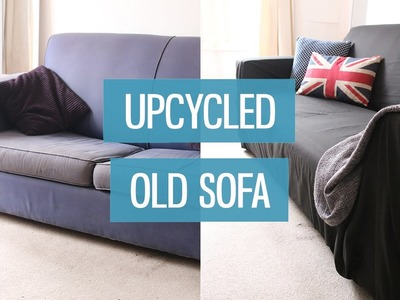 Old sofa makeover – upcycling DIY | CharliMarieTV
