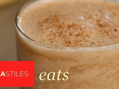 Pumpkin Gingerbread Smoothie Recipe | Tara Stiles Eats