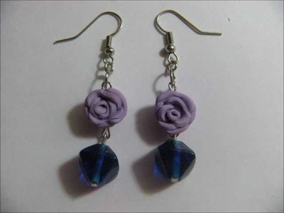 Rose Earrings Tutorial