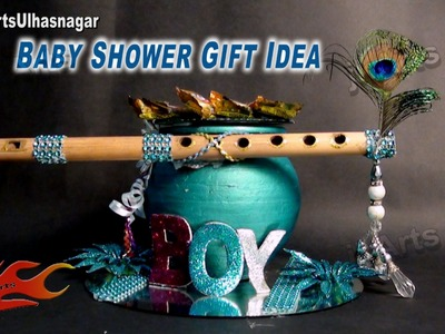DIY Baby Shower Gift idea on Krishna God theme | How to make | JK Arts 622