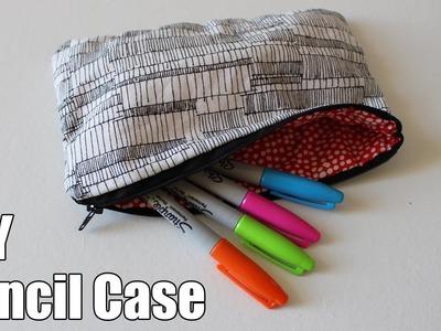 DIY Pencil Case. Pouch