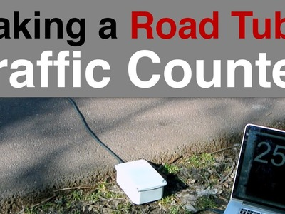 DIY Traffic Counter - Road Tube