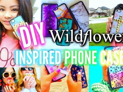 DIY Wildflower Inspired Phone Cases!