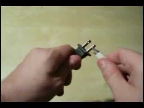 How to Power a TV using a AAA battery