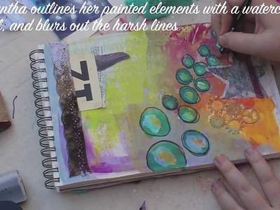 Mixed Media Art Journaling with Samantha Kira Harding