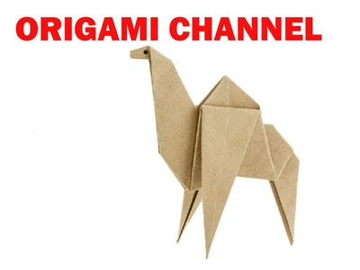 ORIGAMI CAMEL EASY - HOW TO MAKE AN ORIGAMI CAMEL PAPER