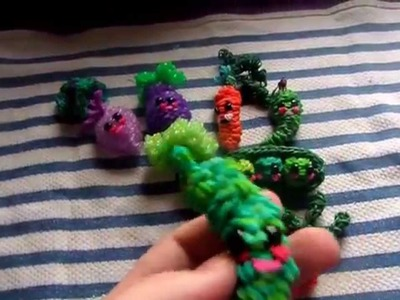 Rainbow Loom My Happy Food (props go to feelinspiffy) Vid 1