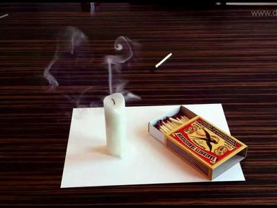 Amazing 3D illusions on paper