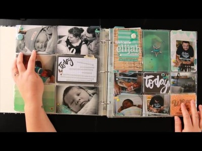 Baby Project Life Book