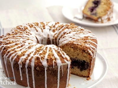 Blueberry-Buttermilk Muesli Coffee Cake - From the Test Kitchen