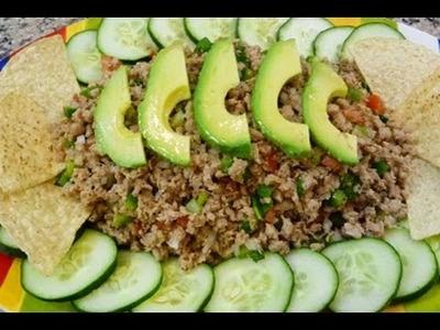 Ceviche de Soya, Receta Vegetariana, Facil y Saludable, How to,