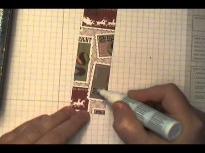 Dawn's Quick Tip:  Customize Stampin' Up! Designer Series Paper