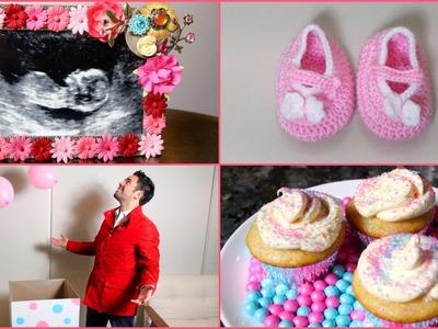 DIY- 6 BABY GENDER REVEAL IDEAS!
