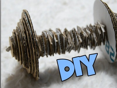 DIY DUMBELL TOY FOR SMALL ANIMALS