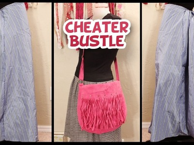 DIY No Sew 'Cheater' Bustle {VERY EASY} - Whitney Sews