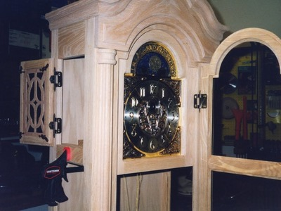 DIY Oak Grandfather Clock - Create a Family Heirloom