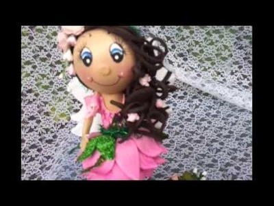 Fairy Fofucha Doll Pen Foamy Doll