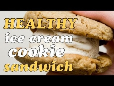 Healthy Ice Cream Cookie Sandwich | Cheap Clean Eats