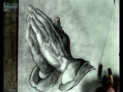 How to Draw Praying Hands Step by Step (Albrecht Durer)