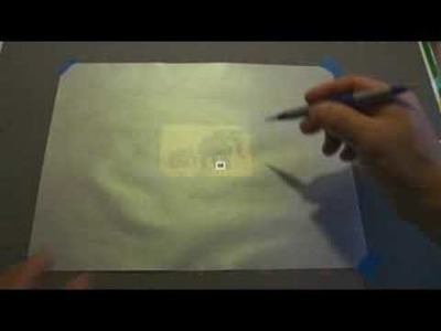 How to emboss on vellum paper