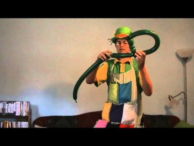How to make a balloon dragon hat