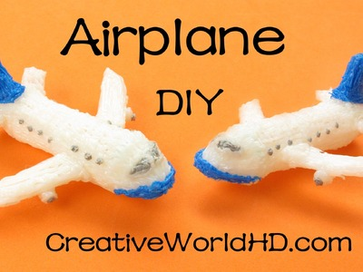 How to Make Airplane.Boeing.Jet - 3D Printing Pen Creations.Scribbler DIY Tutorial