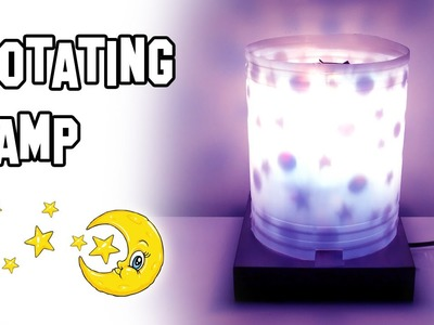 How To Make Rotating Lamps DIY | Cool Science Experiment