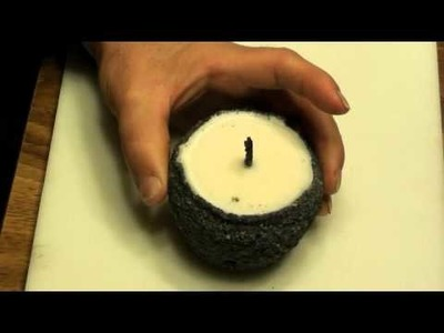 Make A Tallow Candle