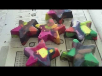 Make Shaped Crayons with Cupcake Tins (Part I)