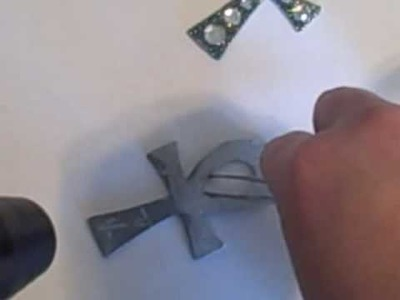 Making Chipboard and Bling Charms