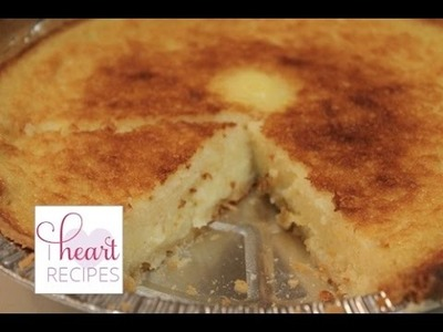 Old Fashioned Buttermilk Pie | I Heart Recipes