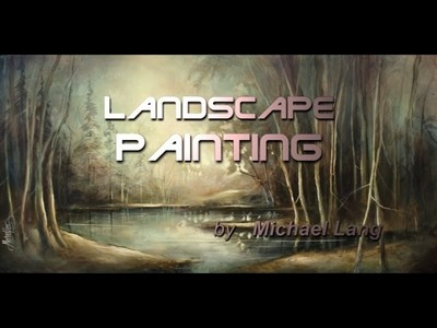 Painting Art Demo Underpainting Blending Shading Color Mix Lang