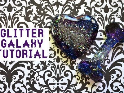 ✾Resin Tutorial: Glitter Galaxies