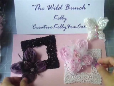 WOC Organza Rose Trim Butterfly Tutorial