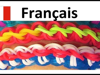 Bracelet Elastique: Rainbow Loom Francais | Torsion Français, loom bands, tutoriel