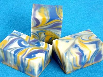 Classic Cold Process Swirl Soap