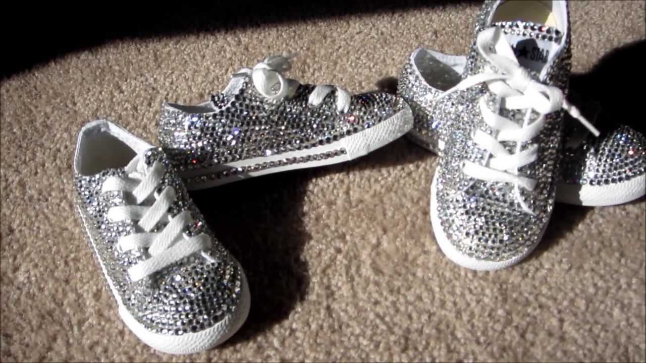 Custom Crystal Converse All Stars