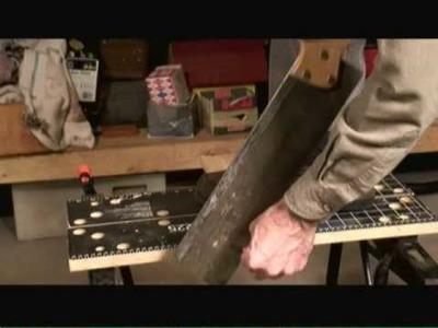 Cutting Inside Corners on Baseboard Trim Video