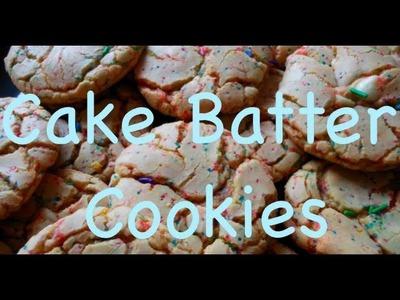 DIY: Cake Batter Cookies ♡ Theeasydiy #ChefJess
