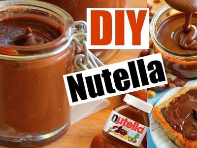 DIY NUTELLA! Make homemade Nutella!
